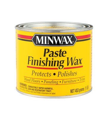Minwax 785004444 Paste Finishing Wax, 1-Pound, (Dresser Natural Stain)