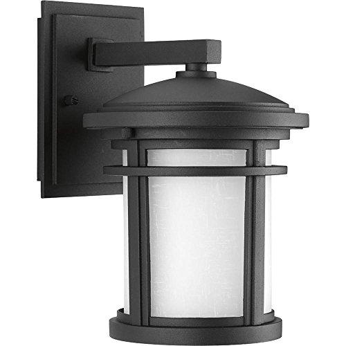 Progress Wish Collection 1-Light Textured Black LED Wall ()