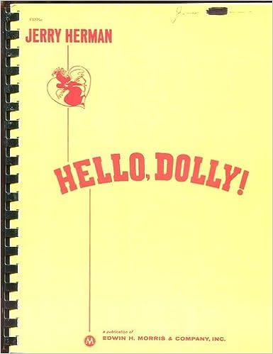 Hello Dolly Vocal Score Ebook