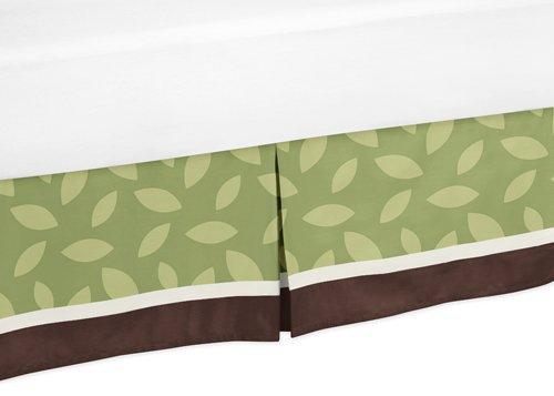 Jungle Time Bed Skirt for Toddler Bedding Sets by Sweet Jojo Designs