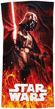 Star Wars Serviette Drap de bain Darth Vader 75X150 cm Neuve 100/% Coton