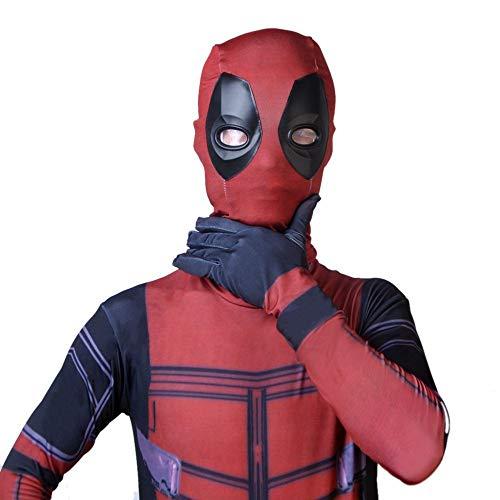 WEGCJU Niños Adultos Deadpool Traje De Traje De Cosplay ...