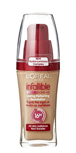 Image Unavailable. Image not available for. Color: L'oreal Infallible Long-lasting Perfecting Foundation ...