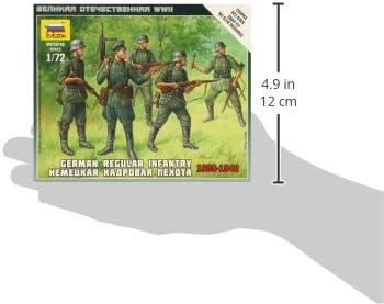 German Regular Infantry 1939//43 Kit 1:72 Zvezda Z6178