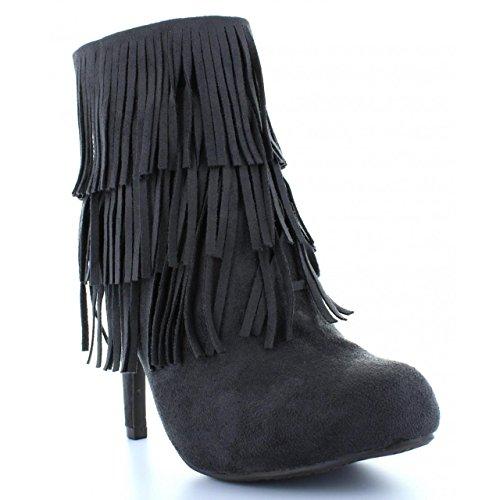 Stivali per Donna XTI 28835 ANTELINA GRIS