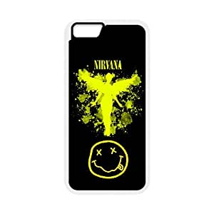 Nirvana Band For iphone 6s 4.7 Custom Cell Phone Case Cover 96II658594