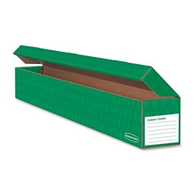 "Wholesale CASE of 20 - Fellowes Bankers Box Trimmer Storage Box-Trimmer Storage Box, 3-1/2""x4-3/4""x4-3/4"", Green"