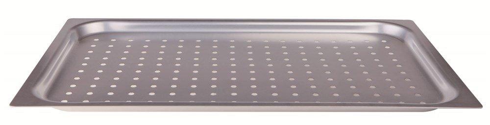 Alluminio 53 x 32.5 x 2 cm Pentole Agnelli ALMA182F20 Teglia Gastronorm in Lega 3003 Forata 2 cm