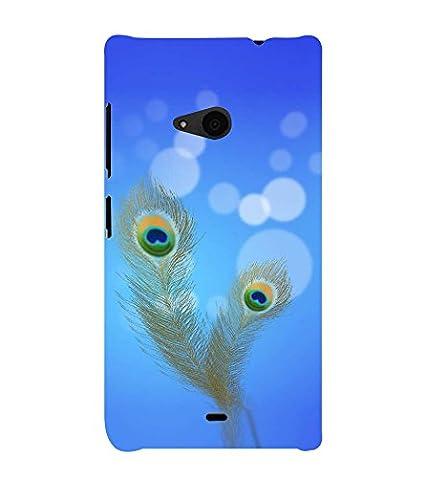 half off 095f7 a7239 Fiobs Designer Back Case Cover for Microsoft Lumia 535: Amazon.in ...