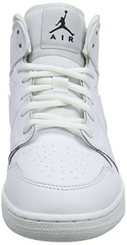 Bambino white Basket Jordan Bg Air Mid Bianco black Scarpe Da Nike 1 white 8fwTfq