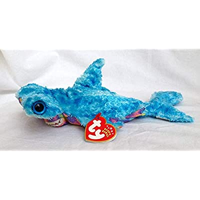 Ty Beanie Baby Sledge Hammerhead Shark: Toys & Games