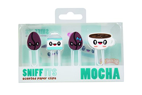 (Sniff Its Mocha Scented Paper Clips by Scentco)