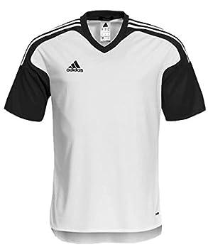 Adidas Performance 3S equipo 13 Team Wear camiseta para hombre camiseta de fútbol S M L XL Blanco blanco-negro Talla:small: Amazon.es: Deportes y aire libre