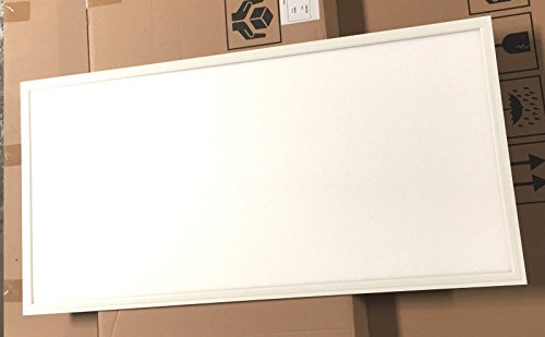 2Pack UL DLC4.2 100lm/W 50W LED Recessed Ceiling 2x4'' Dimmable Comercial LED Panel Light (4000K) by WennoW (Image #2)