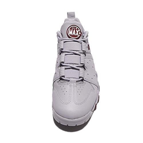 NIKE Herren Air Max2 CB '94 Niedriger Basketballschuh Wolf Grey / Team Rotmetallic Silber