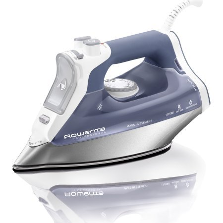 Rowenta, DW8061, Professional Steam Iron, Stainless steel soleplate, 1715 Watts, Zen Blue