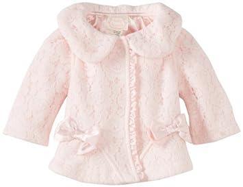 Biscotti Baby Girls Newborn Essential Baby Coat Jacket Pink 9