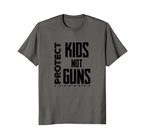 Protect Kids Not Guns T Shirt Gift (Kids Womens Pink T-shirt)