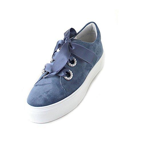 Azura Blau de Schmenger Mujer Kennel Sweiss Plataforma Pearl amp; Piel avWHUx