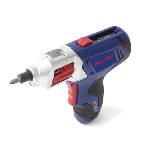 WORKPRO Cordless Rechargeable Power Screwdriver Lithium-ion 3.6V with Quick Change Bits by WORKPRO (Image #3)
