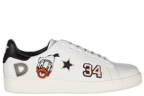 Moa Master Of Arts Herenschoenen Leren Sneakers Sneakers Wit