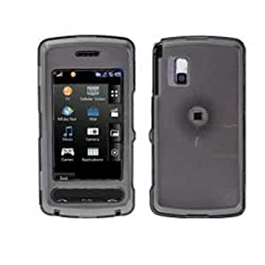 Hard Plastic Snap on Cover Fits LG CU920 CU915 VU Transparent Smoke AT&T (Please carefully check your device model to order the correct version.)
