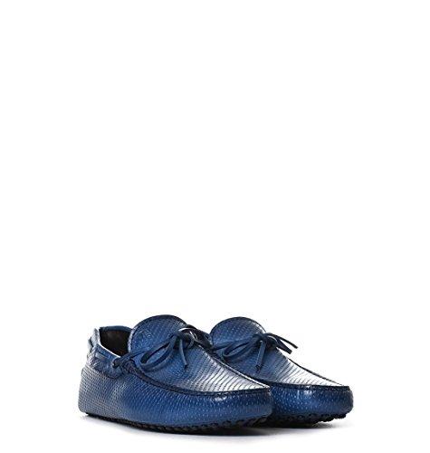 Tod's Homme XXM0GW05470GJJU801 Bleu Cuir Mocassins