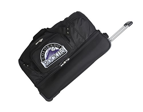 MLB Colorado Rockies Rolling Drop-Bottom Duffel by Denco