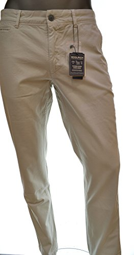 Tg Uomo Wopan1084 Summer Colore Fit Chino Woolrich 36 Pantalone Classic Stone wqZf5xpE