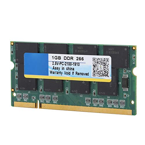 - ASHATA Ram DDR Memory,Universal Memory Module for Computer,1G 266 MHz 200 Pin Laptop RAM for DDR PC-2100 Notebook Full Compatibility for Intel/AMD