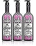 Bask 3 -pack Vineyard Collection Grapes Antioxidant Skin Moisturizer 17 Oz Bottles With Pump