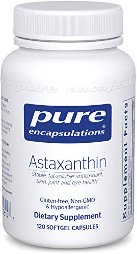 Pure Encapsulations - Astaxanthin - Stable, Fat-Soluble Antioxidant Supplement - 120 Softgel Capsules