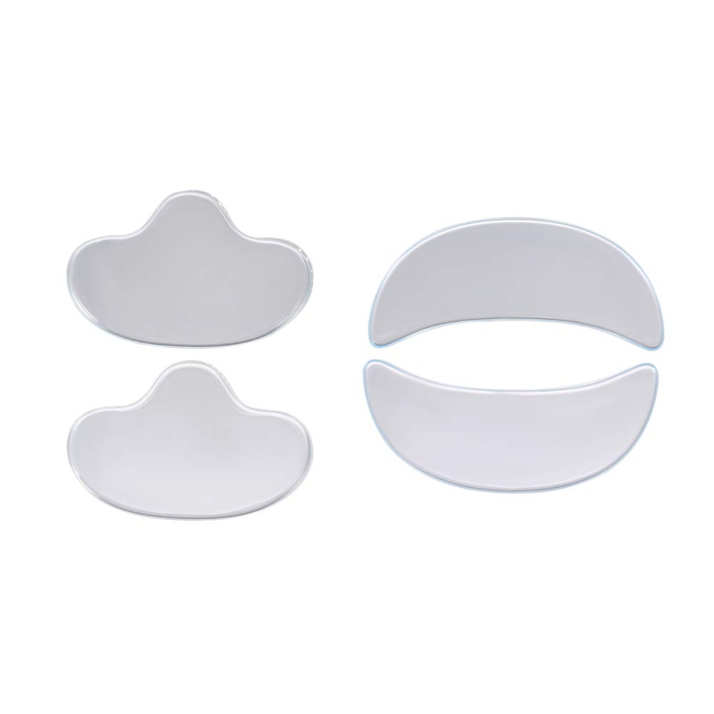 Anself Anti Wrinkle Eye Face Pads Reusable Medical Grade Silicone Invisible Nasolabial Folds Anti-aging Mask Prevent Face Wrinkle W7597-OP2HNJ