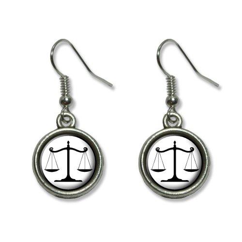 Balanced Justice Novelty Dangling Earrings