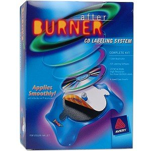 Avery AfterBurner CD/DVD Labeling System