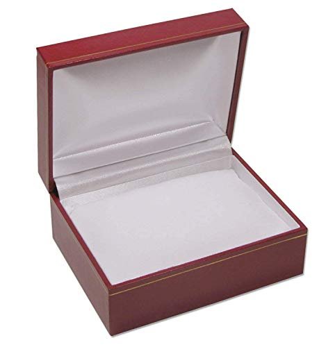 Jewelry Displays & Boxes Red Cartier Style Watch Box White Pillow a Single Watch