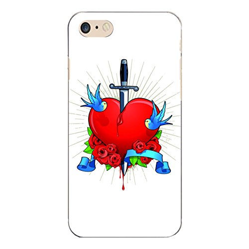 "Disagu Design Case Coque pour Apple iPhone 7 Housse etui coque pochette ""Gebrochenes Herz"""