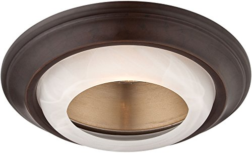 Minka Lavery Recessed Trims 2718-37B Round 6 inch 50 watt Halogen Glass Recessed Trim (Trim Minka Lavery)