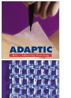 Adaptic Non Adherent Dressing - ADAPTIC Non-adhering Dressing, Adaptic Drs Non-Adh Strl 3 x 8 - Box of 24