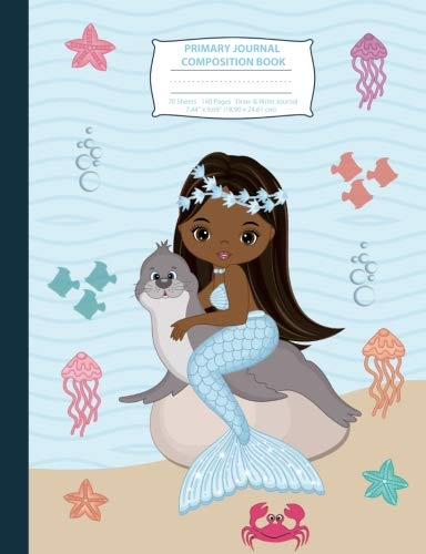 Search : Primary Journal Composition Book: African American Mermaid Primary Story Journal Composition Notebook, Draw and Write Notebook, Composition Book with ... Notebook with Picture Space) (Volume 3)
