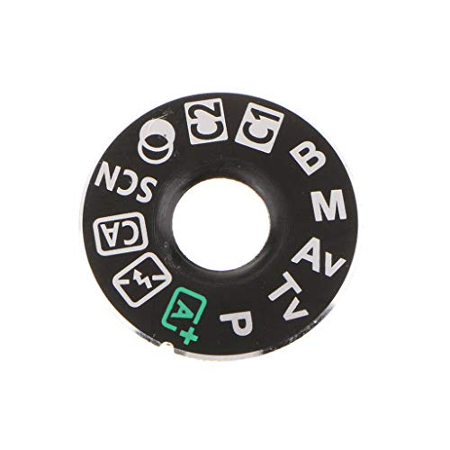 Top Cover Function Dial Mode Button Label Camera Repair Part for Canon EOS 80D