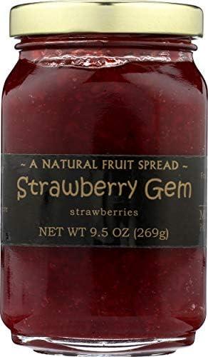 Mountain Fruit Company, Jam Strawberry Gem, 9.5 Ounce