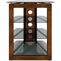 BellO AT306 Bello No Tools Audio/Video Tower Wood-Glass