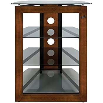 Bellu0027O AT306 Bello No Tools Audio/Video Tower Wood Glass