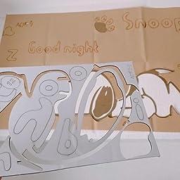Amazon Heaven S Seven スヌーピー ウォールステッカー かわいい 子供用 居間 寝室 幼稚園児 壁イラスト ウォールデコレーション ウォールペーパー 壁紙シール 壁装飾 立体 ステッカー 100 51 ウォールステッカー オンライン通販