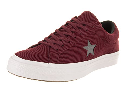 (Converse Unisex One Star Ox Dark Burgundy/Mason Casual Shoe 7.5 Men US / 9.5 Women)