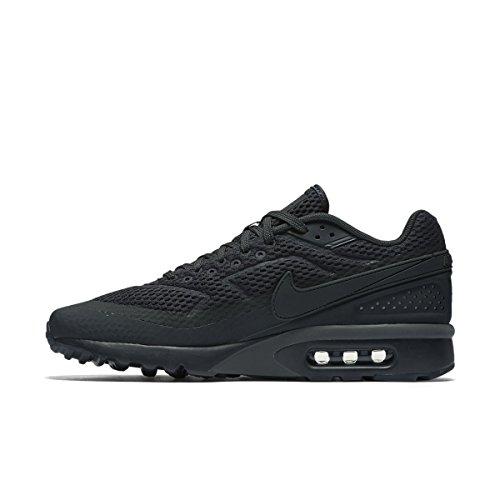 Nike Air Max Bw Ultra Br, Zapatillas De Deporte para Hombre Negro (Anthracite / Anthracite-White)