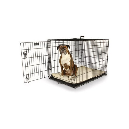 "Petco Classic 1-Door Dog Crate, 48"" L x 30"" W X 32"" H, XX-Large, Black"