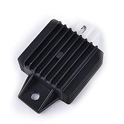4 Pin Voltage Regulator Rectifier GY6 50cc 60cc 80cc 125cc 150cc Chinese Moped Scooter ATV: Automotive