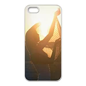 iPhone 5,5S Case,catch the sun Hard Shell Back Case for White iPhone 5,5S Okaycosama340825